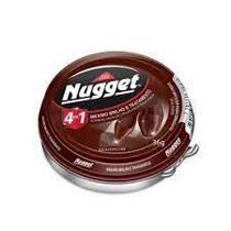 Nugget Cera Em Pasta Marrom 36g 6 unidades -