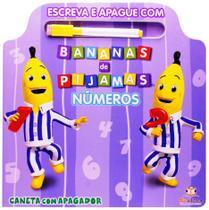 Números - Col. Escreva e apague com Bananas de Pijamas - Blu