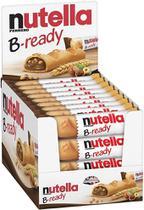 Nutella B-ready Biscoitos Wafer Com Creme Nutella kit c/ 36 -