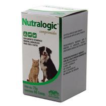 Nutralogic 60 comp Vetnil Suplemento Imunidade Cães e Gatos -
