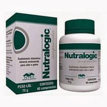 NUTRALOGIC - frasco com 60 comprimidos - Vetnil -