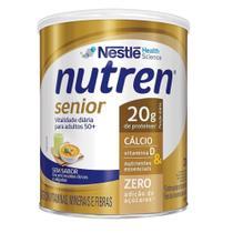 Nutren Senior Sem Sabor 370g Complemento Alimentar - Nestlé Health Science -