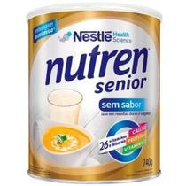 Nutren Sênior Sem Sabor lata Promocional Com 740 grs. (melhor Preço) - Nestlé