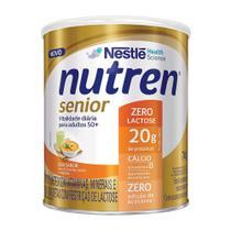 Nutren Senior Sem Sabor Zero Lactose Suplemento Alimentar 740g -