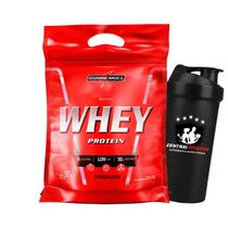 Nutri Whey 907g Chocolate - Integralmedica + Coqueteleira -