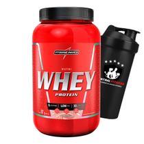 Nutri Whey 907g Pote + Coqueteleira - Whey Protein - Integralmedica -