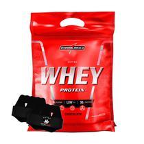 Nutri Whey 907g Refil Chocolate + Luva - Integralmedica -