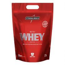 Nutri Whey Protein - 1800g Refil Morango - IntegralMédica - Integral Médica