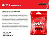 nutri whey protein 907g refil integralmedica 1 un morango -