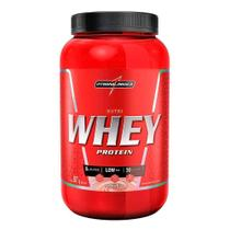 Nutri Whey Protein Integralmédica Sabor Morango 907g - Integralmedica