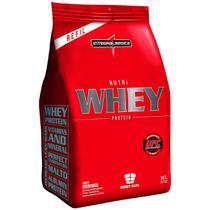Nutri Whey  saco 907g Morango - Integralmédica -