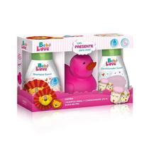 Nutriex Bebê Love Rosa Kit Shampoo 240ml + Condicionador 220ml -