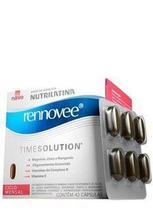 Nutrilatina Rennovee Time Solution Rejuvenescedor e Antioxidante 42 Cápsulas - Não