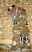 O Abraço - Gustav Klimt - 60x97 - Tela Canvas Para Quadro - Santhatela