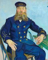 O Carteiro Joseph Roulin - Vincent van Gogh - Tela 60x74 Para Quadro - Santhatela