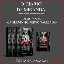 O Diário De Miranda - Acompanha Caderninho Personalizado - Pandorga