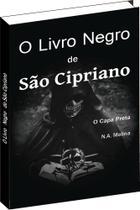 O Livro Negro De São Cipriano - Capa Preta - Livropostal -