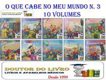 O Que Cabe No Meu Mundo Valores Coleção N.03 C/ 10 Livros - Bom Bom Books