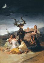 O Sabá das Bruxas (1798) - Francisco de Goya - Tela 60x86 Para Quadro - Santhatela