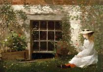 O Trevo de Quatro Folhas - Winslow Homer - Tela 50x71 Para Quadro - Santhatela