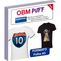 OBM Puff - Termocolante Sublimático 3D - A3 - Promafilm