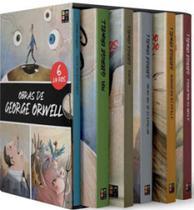 Obras de george orwell - box 6 livros - Pe Da Letra