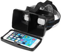 """Óculos 3D VR Headset Realidade Virtual Suporte Para Smartphone Até 6"""" -"""
