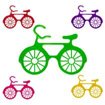 Óculos Bicicleta Coloridos sem Lente 12 Unidades - Festabox