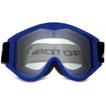 Óculos Capacete Motocross / Off-Road 788 Racing Goggle Azul Pro Tork -