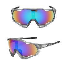 Óculos Ciclismo Bike Esportivo Speed Espelhado Proteção Uv -