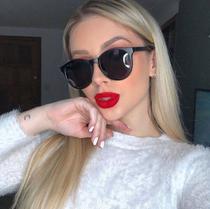 Óculos Clipon Sol Armação Feminino Grau Retrô Redondo Cornelia - Palas Eyewear