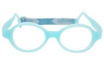 66fd9222b36b9 Óculos De Grau Infantil Miraflex Silicone 5 A 7 Anos Baby Lux 2 Tam.40