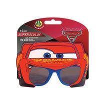 Óculos de Infantil Proteção UV Disney Carros 3 Relampâgo McQueen - DTC -