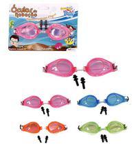 Oculos De Natacao Com Protetor De Ouvido Colors Summer Fun N - Wellmix