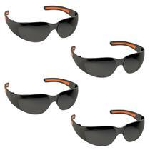 Óculos De Proteção 04 Unidades Fume p/ Volei Ciclismo Pesca New Stylus - Kalipso