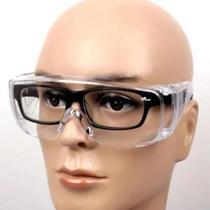 Óculos De Proteção Epi Segurança Sobrepor Panda Incolor - Kalipso