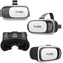 Óculos De Realidade Virtual 3d Para Smartphone - Vr Box 2.0 - Não Informada