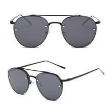c804333d5 Óculos de Sol Armação de Metal Estilo Moderno Unissex - Várias Cores -  Vinkin