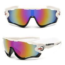 Óculos De Sol Bike Ciclismo Esportivo Proteção Uv Espelhado -