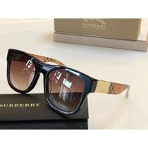 oculos de sol burberry preto justin -