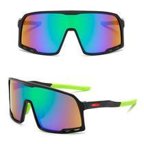 Óculos De Sol Esportivo Masculino Feminino Ciclismo Preto -