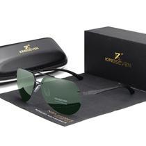 Óculos de Sol Kingseven Aviador Masculino Polarizado Luxuoso -