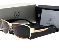 Óculos De Sol Luxuoso Mercedes-benz Polarizado Proteção Uv -