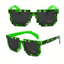 Óculos De Sol Minecraft Infantil Colorido - FEZA