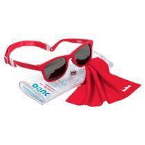 Óculos de Sol para Bebê Buba Alça Ajustável e Lenço Vermelho -