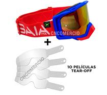 Óculos Gaia Mx Pró Special Macaw + 10 Película Tear Off -