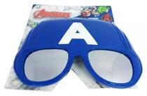 Oculos Infantil Marvel Avengers Uv-400 Capitão America Dtc -