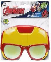 Oculos Infantil Marvel Avengers Uv-400 Homem De Ferro Dtc -