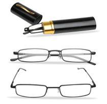 Óculos leitura estojo caneta levar na bolsa no bolso unissex - A.Cat