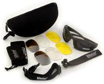 Óculos Militar Motocicleta Ciclismo Queshark Daisy X7 -